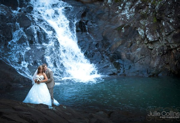 Wedding Photos - Cedar Creek Falls